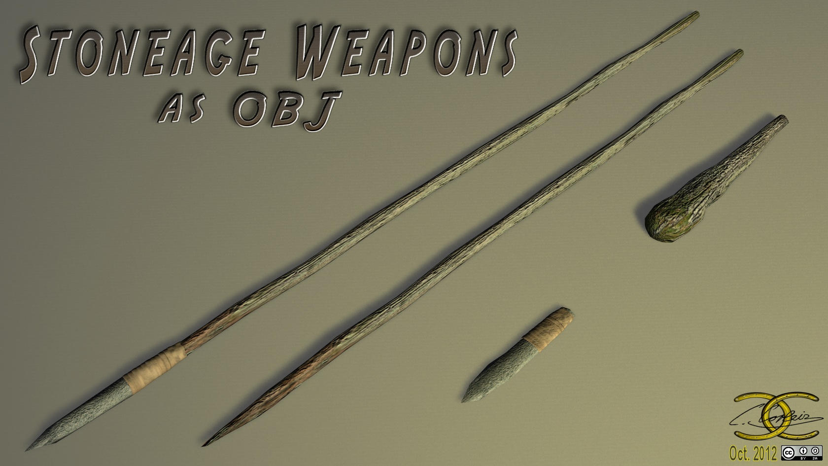 3d Game Wallpaper For Mobile Stoneage Weapons As Obj By Ancestorsrelic On Deviantart