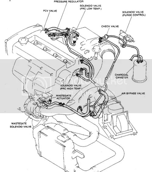 thread gtx vacuum hose routing diagram