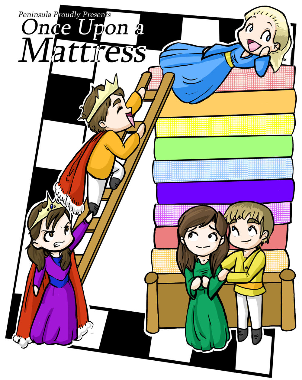 Once Upon A Mattress By Micahjo On Deviantart