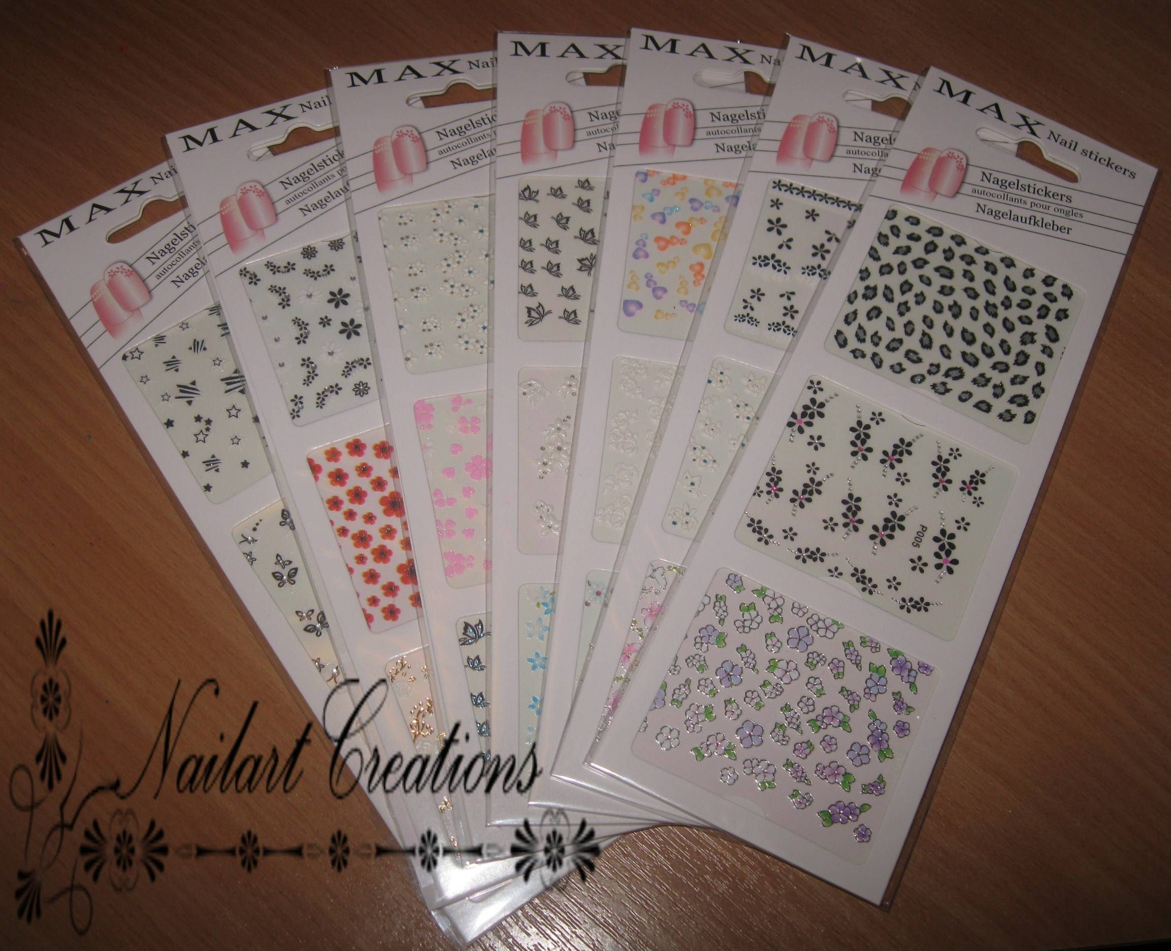Muurstickers Action Nailart Creations Review Max Nailstickers
