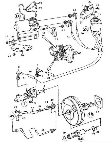 saab 9 3 del schaltplan auto electrical wiring diagram 96 Honda Accord Paint Job l u00e5sta bromsar efter bortag av abs p u00e5 9000