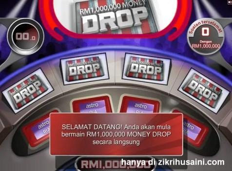 1 million drop money, 1 juta money drop, program 1 million money drop asto 104