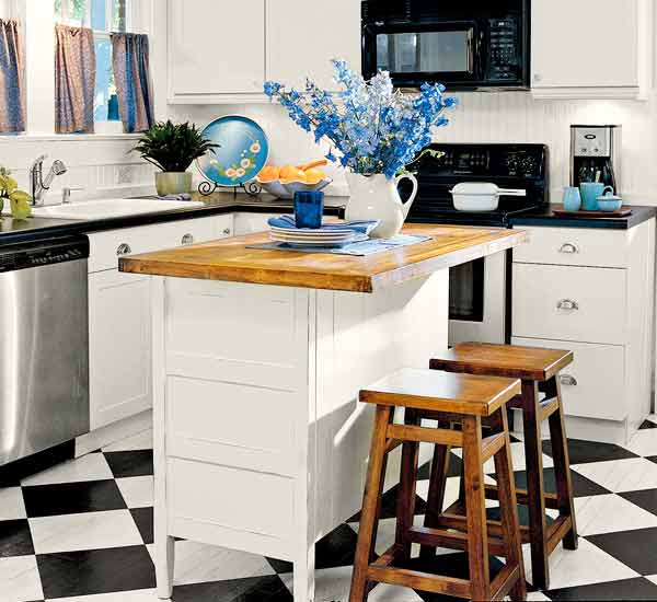 This Old House Kitchen Island 48. Private Kitchen Island | 50 Nifty Fix-ups For Less