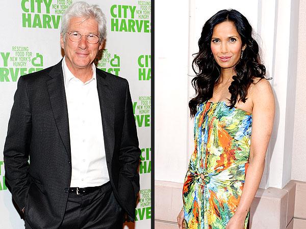 Richard Gere and Padma Lakshmi Are Dating