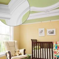 Crib with a Coffered View | 39 Crown Molding Design Ideas ...