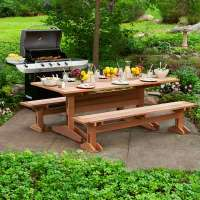 Build a Picnic Table and Benches | Get Your Backyard Ready ...