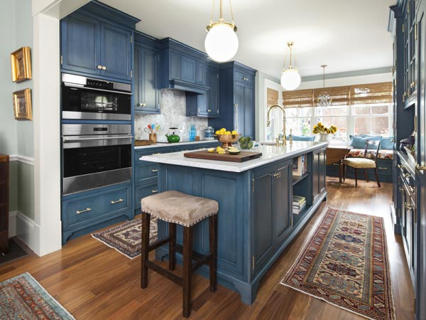 This Old House Kitchen Island Streamlined Kitchen For Convenience | Charlestown 2014