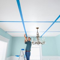 Locate the Joists. | How to Build a Coffered Ceiling ...