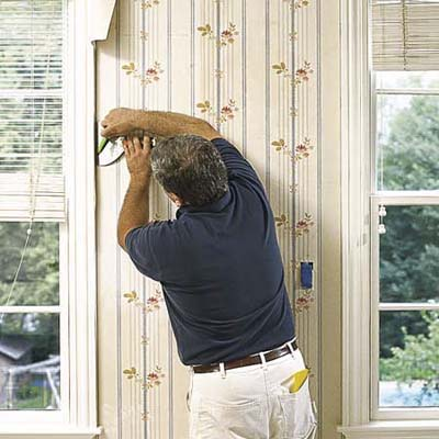 Trim around windows and doors | How to Hang Wallpaper | This Old House