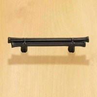 Asian Flair | Oversize Bar Pulls for Tired Kitchen ...