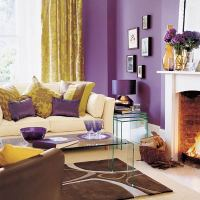 Bold and Bright Living Room | Color of the Year, 2014 ...