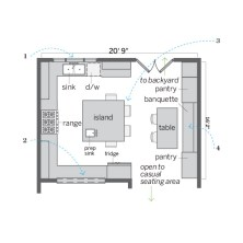 Small Eat In Kitchen Floor Plans