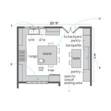 Small Eat In Kitchen Floor Plans