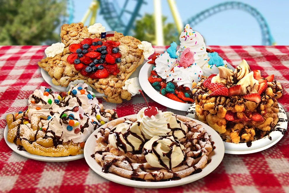 10 theme park foods that will get your taste buds in on the thrills - six flags food