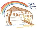 Noah S Ark Embroidery Design