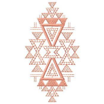 Geometric Design Embroidery Design AnnTheGran