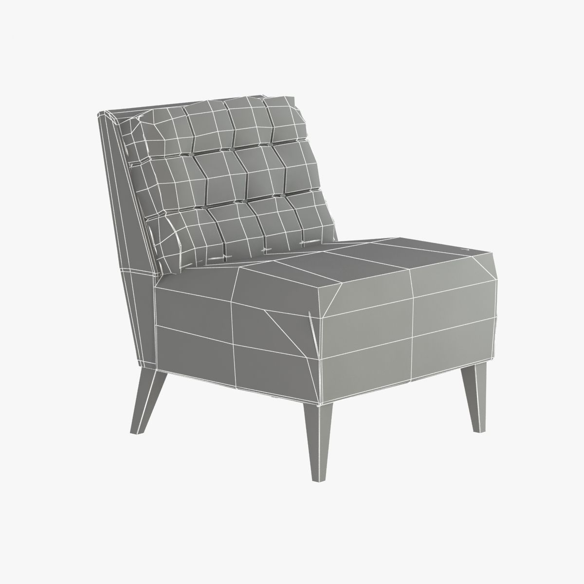 Hamptons Lounge Hampton Lounge Chair 3d Model Max Obj 3ds Fbx Cgtrader