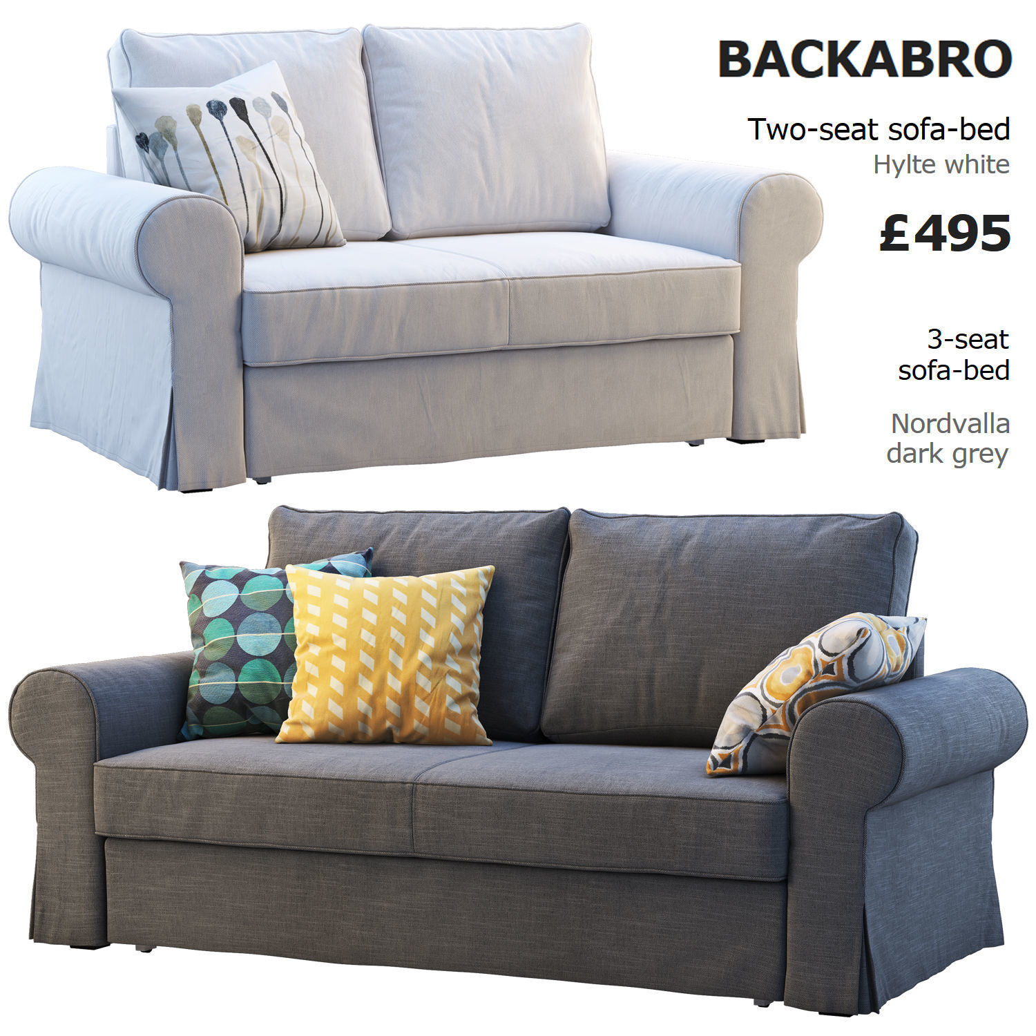 Backabro Ecksofa Luxury Ikea Backabro 1 3d Cgtrader
