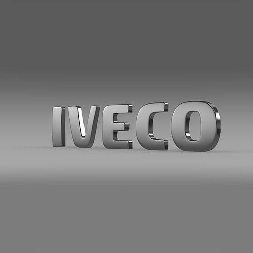 3d Printing Wallpaper Hd 3d Iveco Logo Cgtrader