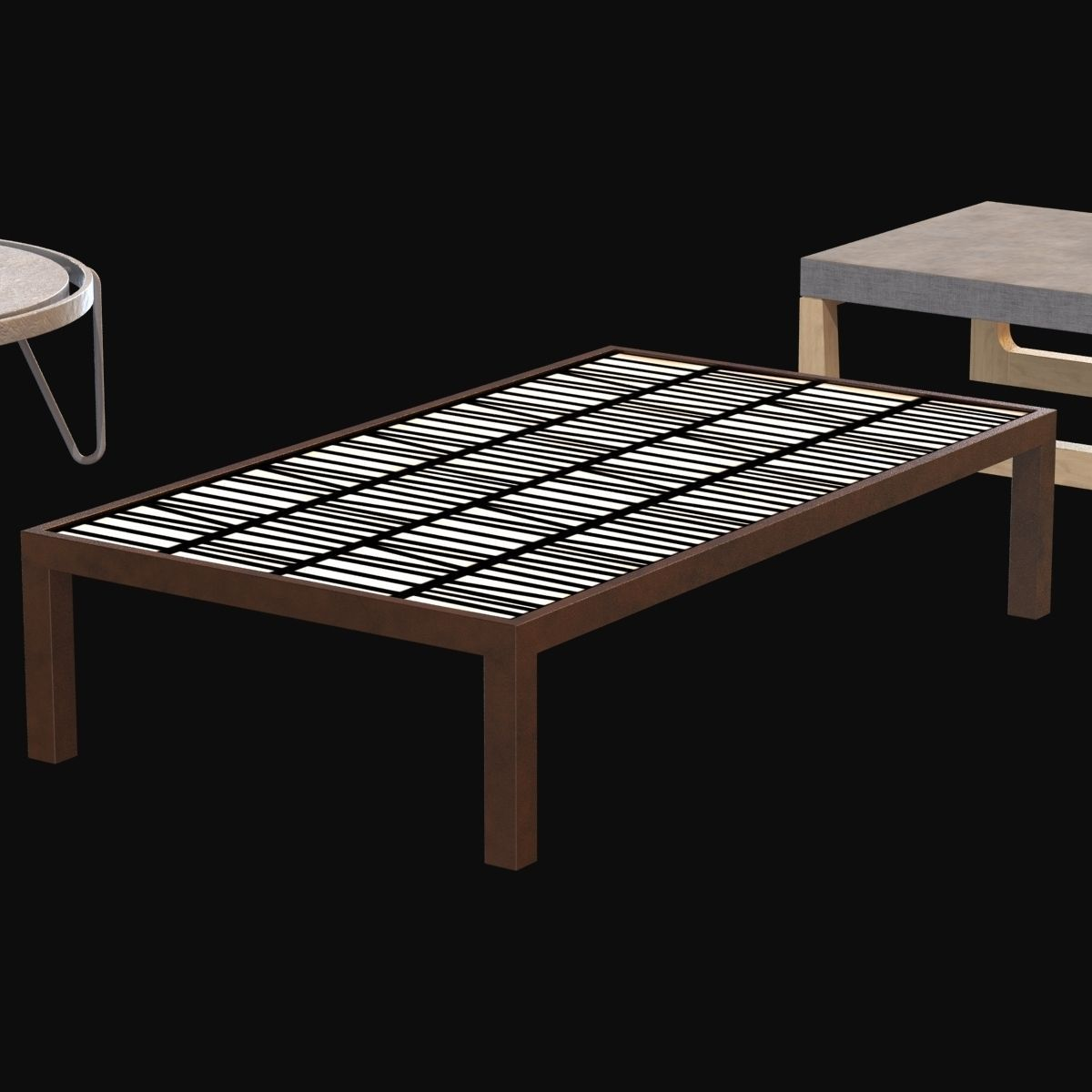 Max A Table Tables Collection 2 3d Model Max Obj 3ds Fbx Cgtrader