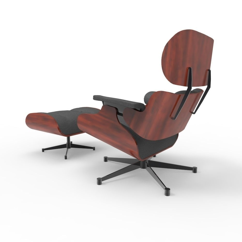Eames Lounge Sessel Eames Lounge Chair 3d Model
