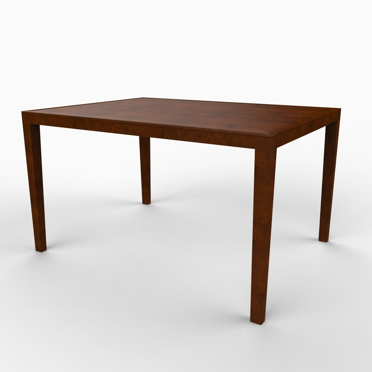 Max A Table Simple Dining Table 3d Model Max Obj 3ds C4d Lwo Lw