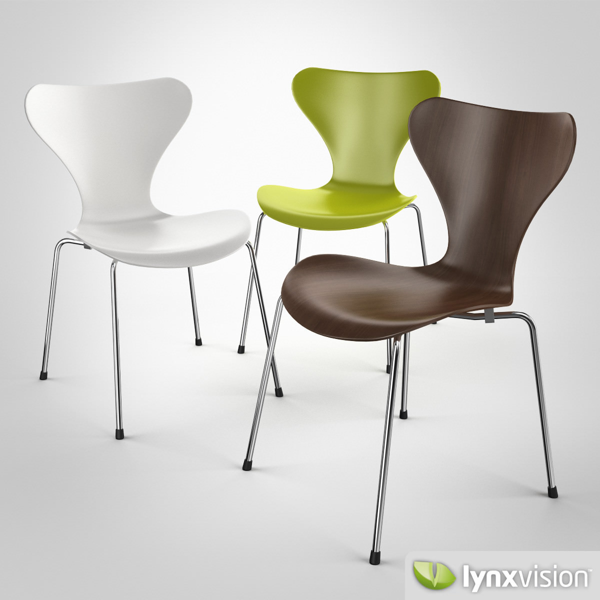 Serie 7 Chair By Arne Jacobsen 3d Model Cgtrader - Arne Jacobsen Chair