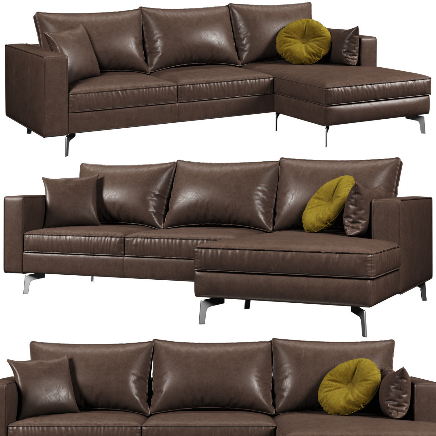 Square Sofa Calligaris Square Sofa 3d Model