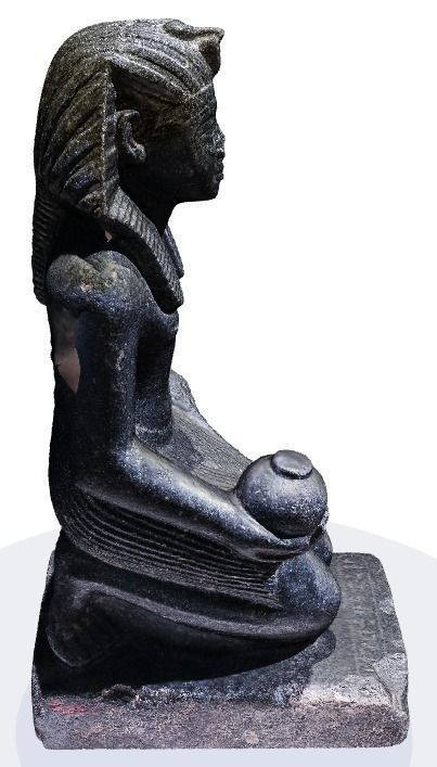 Car Zip Egyptian Statue From Berlin Museum 3d Model 3d Printable