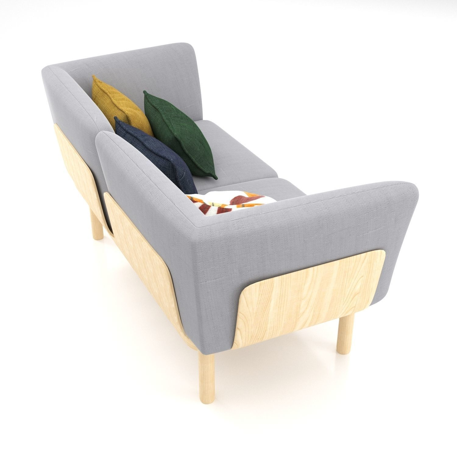 Alki Chaises Alki Egon Sofa 3d Model