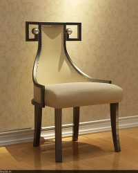 Fancy Chair collection 3D Model MAX OBJ 3DS