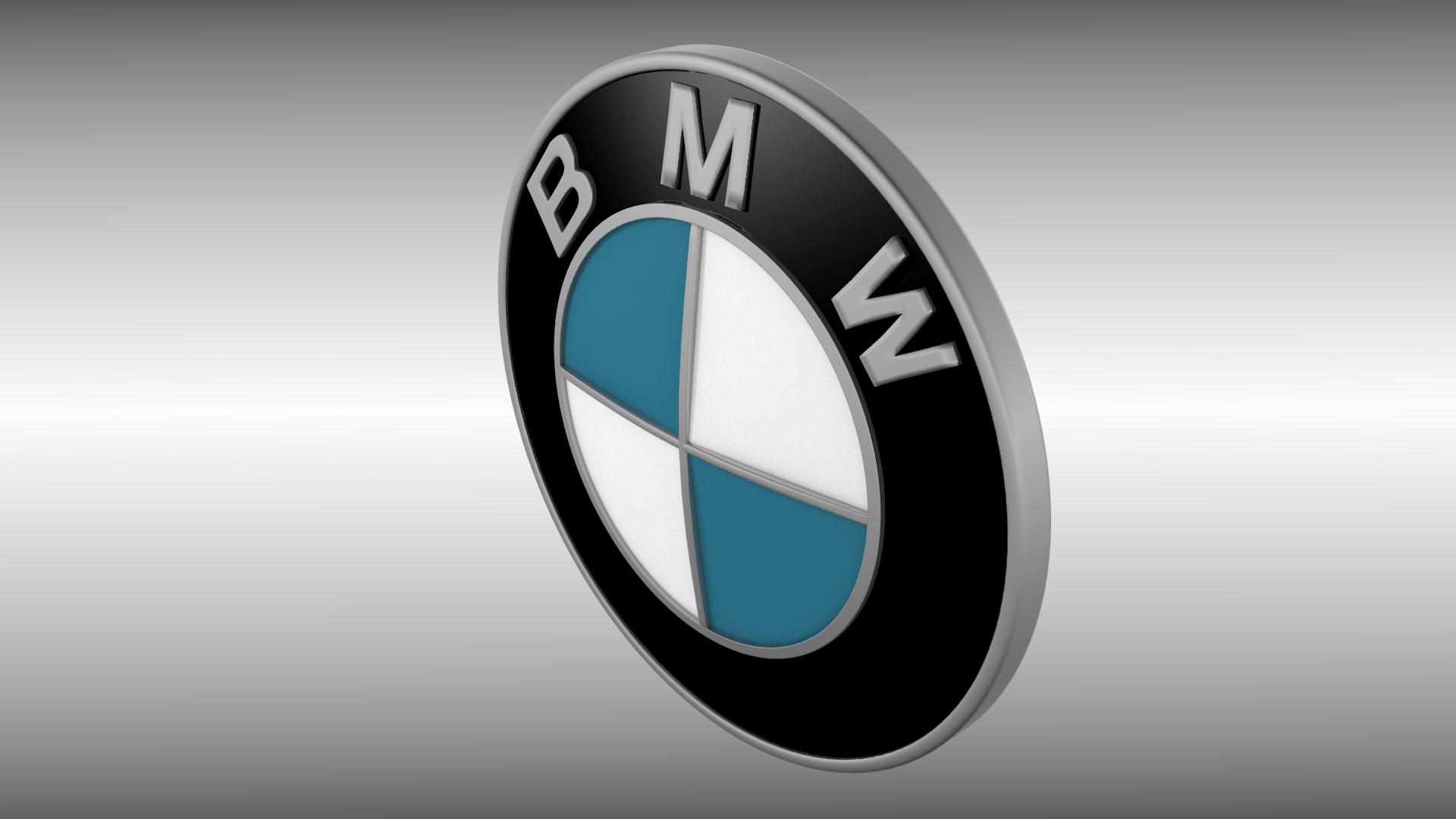Full Hd Car Wallpapers 1080p Bmw Bmw Logo 3d Model Obj Blend Mtl Cgtrader Com
