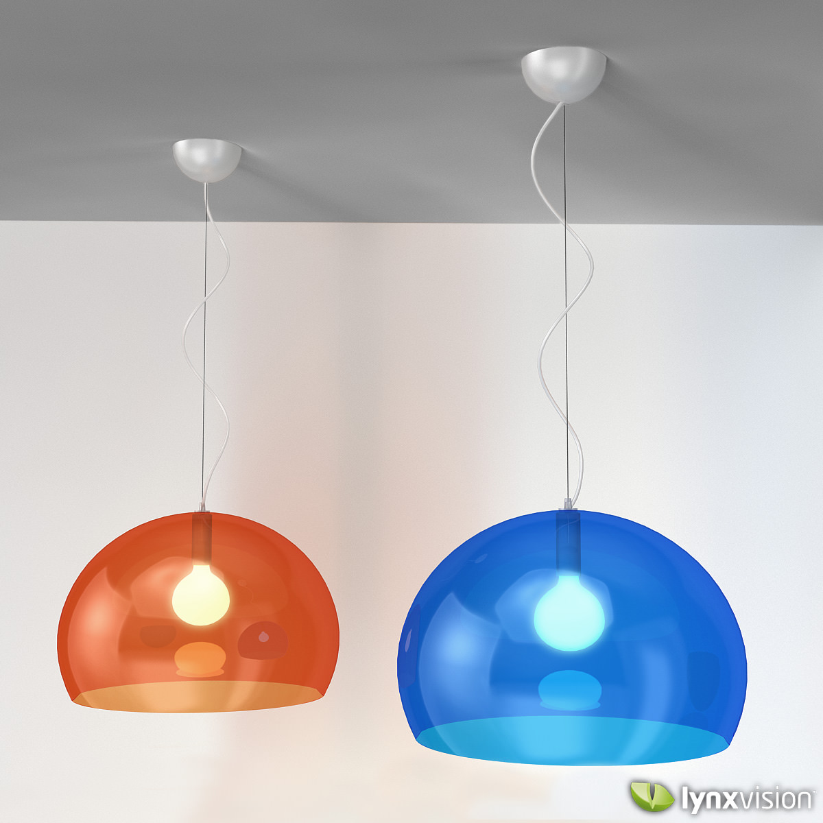 Lamp Kartell Fly Pendant Lamp By Kartell 3d Model