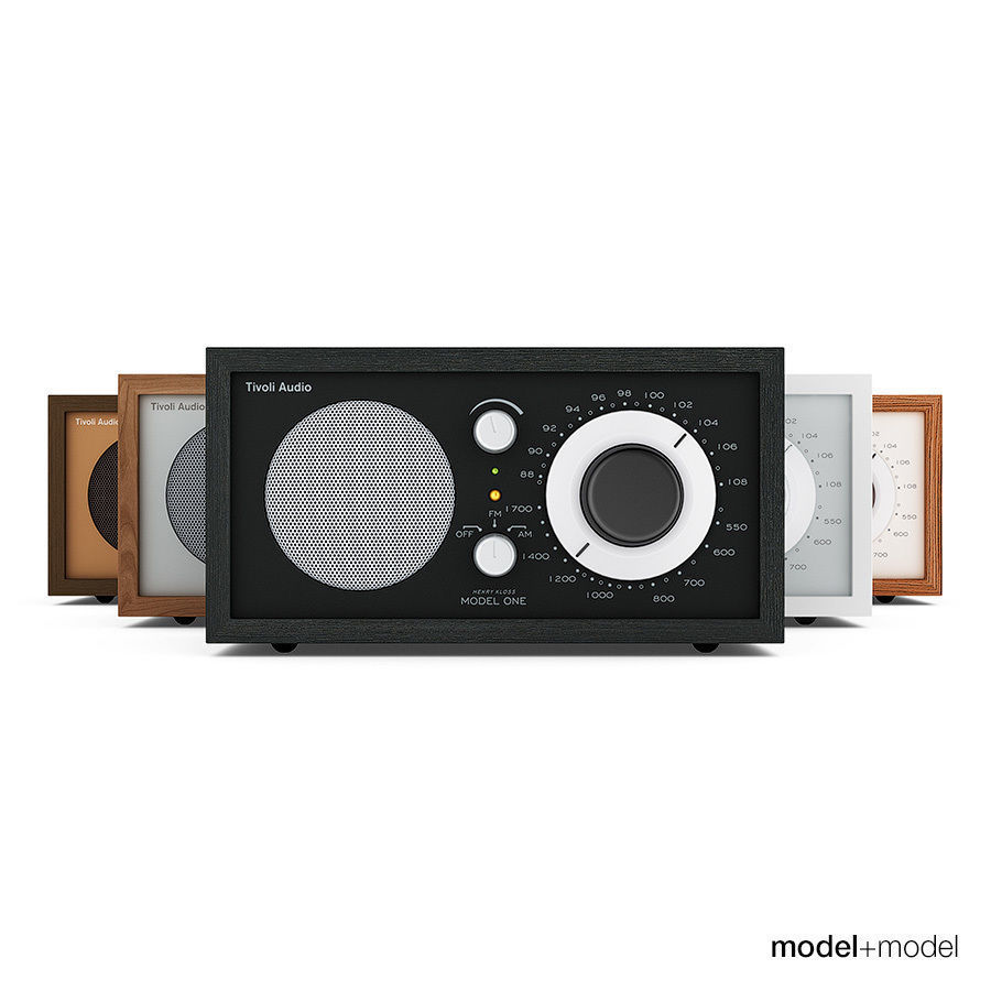 Tivoli Radio Sale Tivoli Audio Model One Radio 3d Model