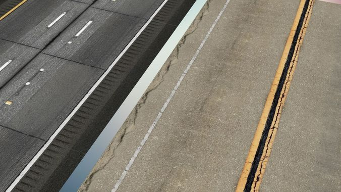 3D Road Texture Pack PREMIUM HD CGTrader