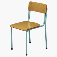 3D School Chair vray | CGTrader