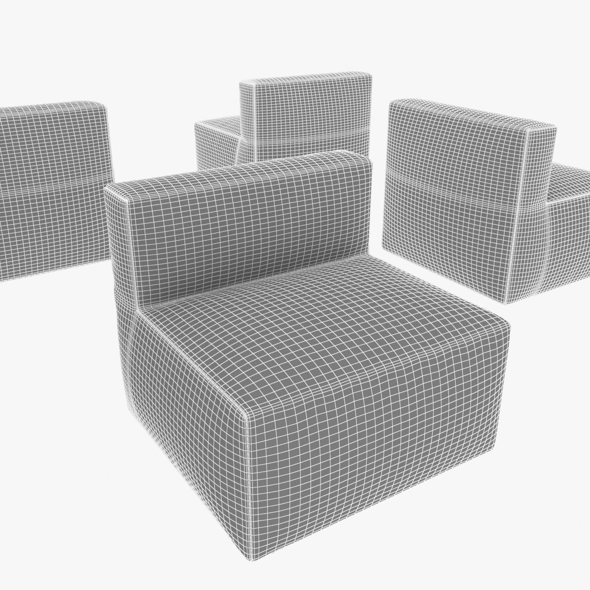 Divani Definition Cabrio Chair By Living Divani 3d Model