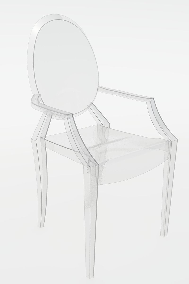 Philippe Starck Ghost Chair Philippe Stark Ghost Chairs Kartell