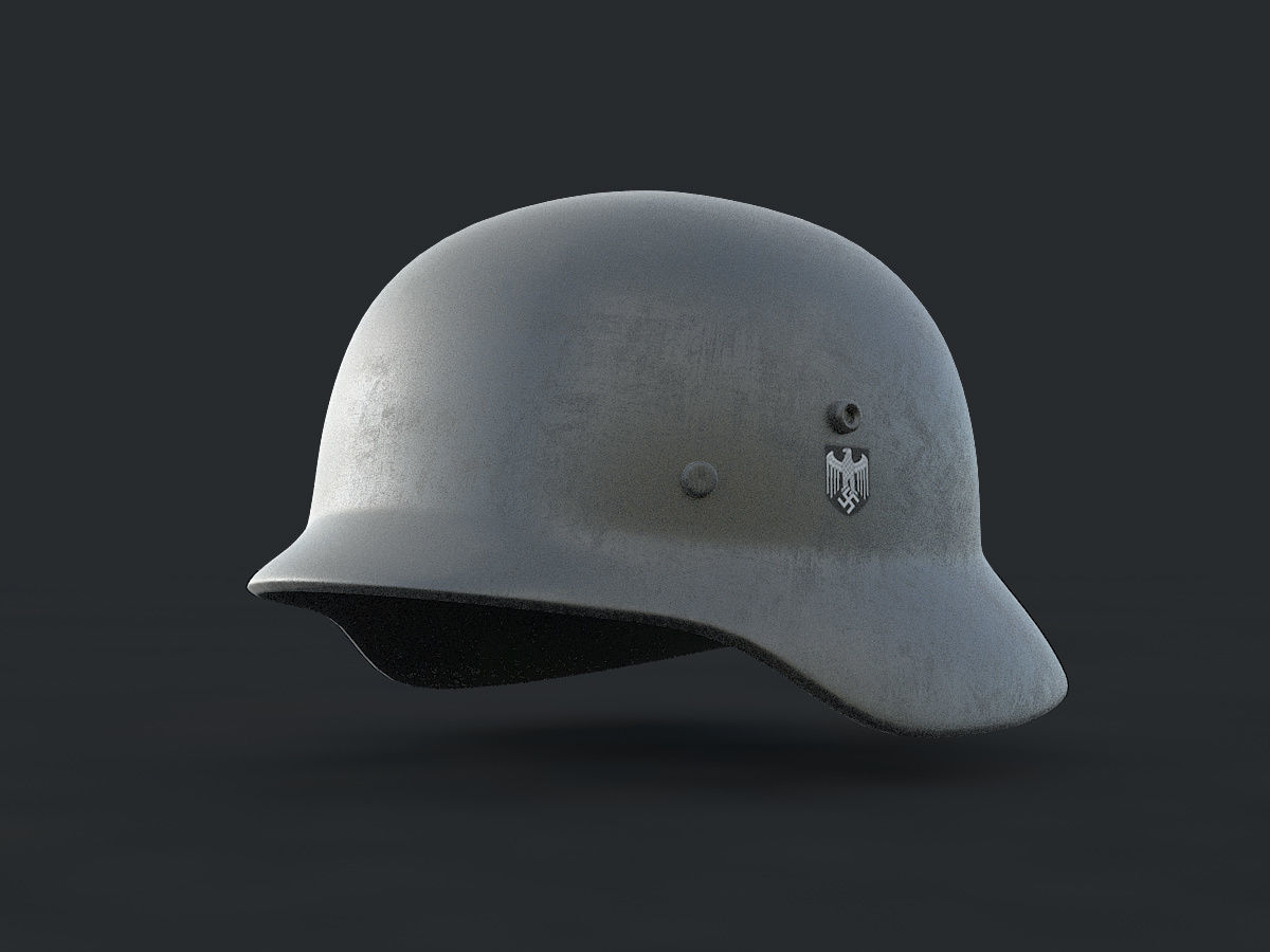 Strahlhelm Ww2 German Helmet Stahlhelm 3d Model