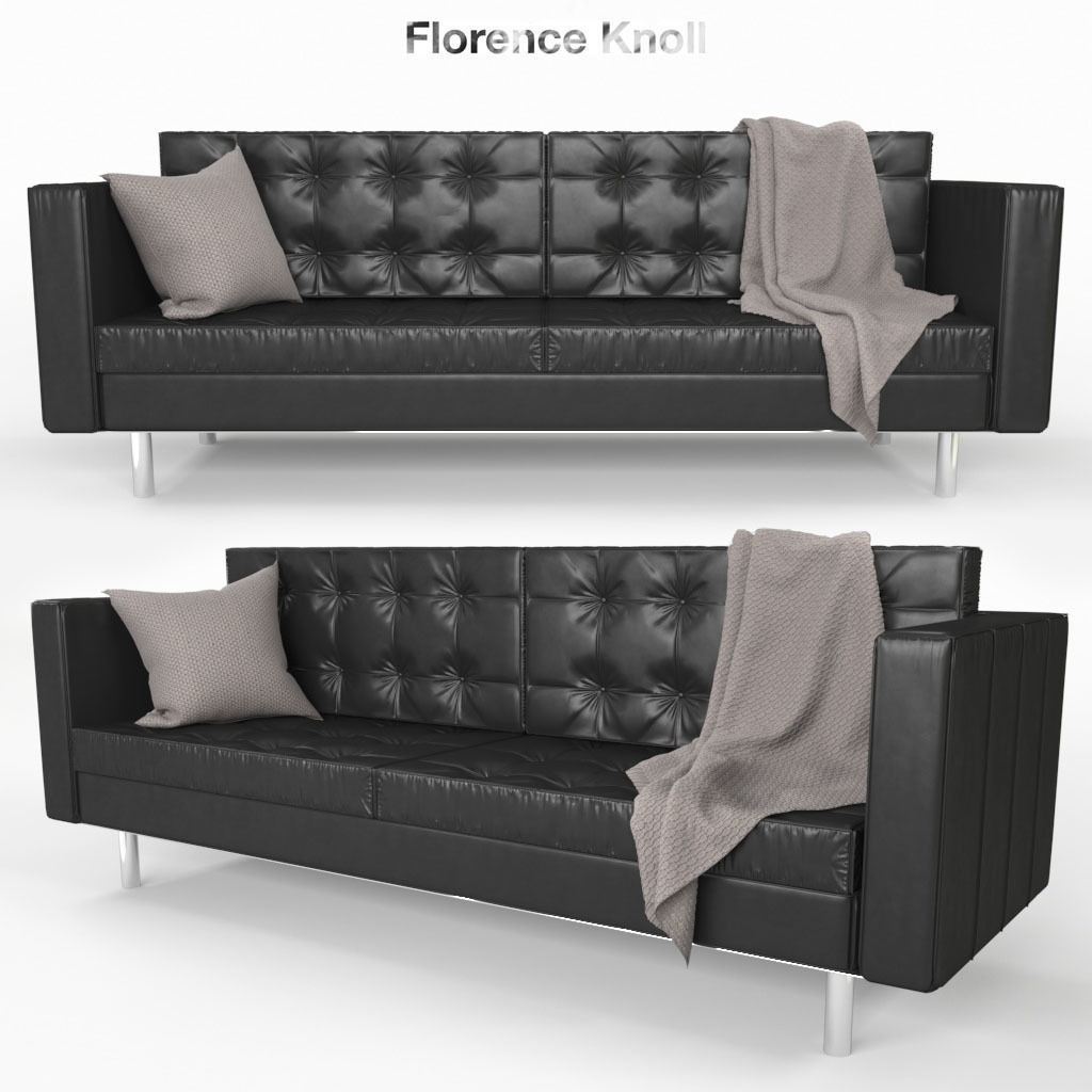 Florence Knoll Sessel Florence Knoll Sofa 3d Model