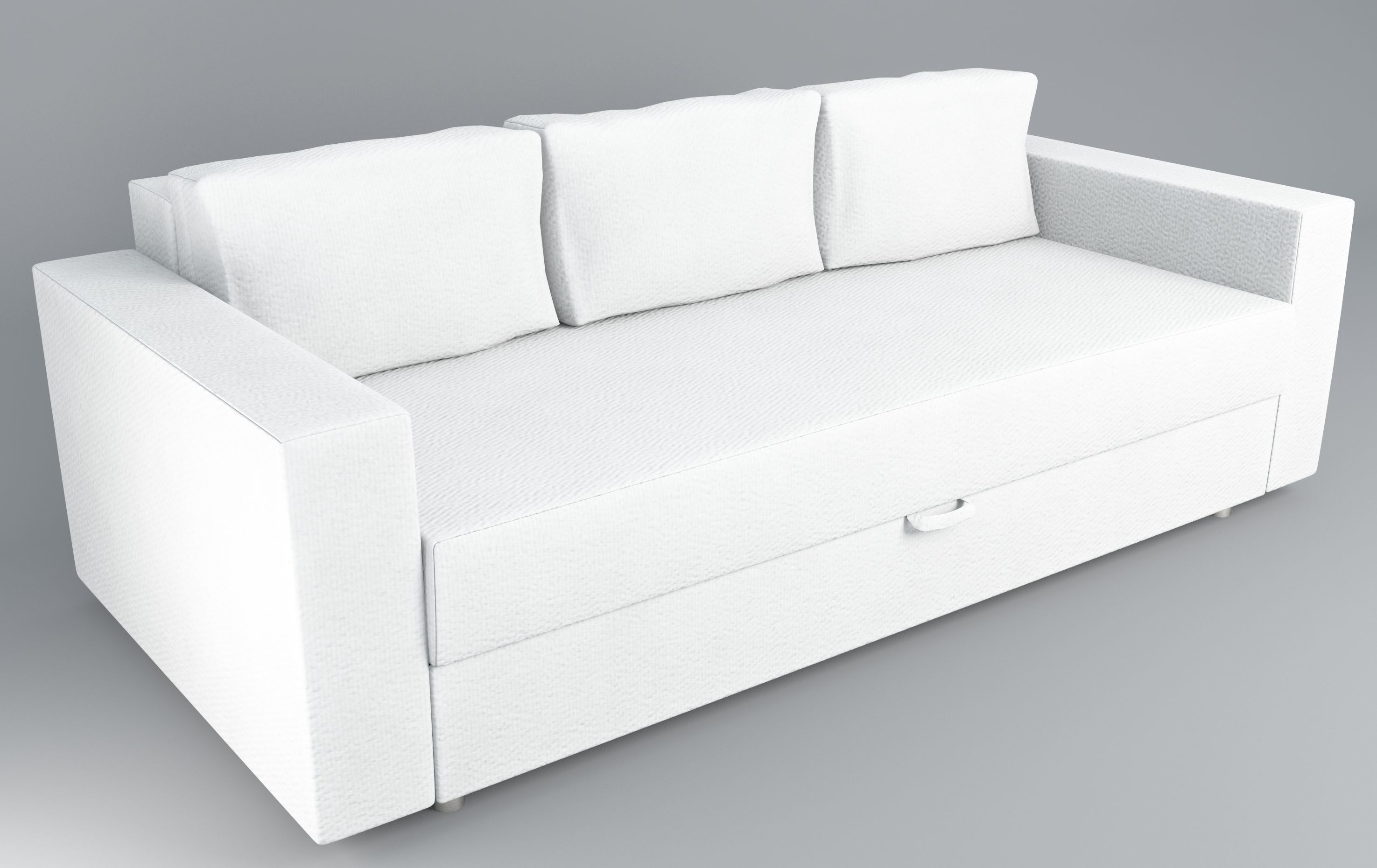 Ikea Sofa Bed Sofa Bed Ikea Friheten 3d Model