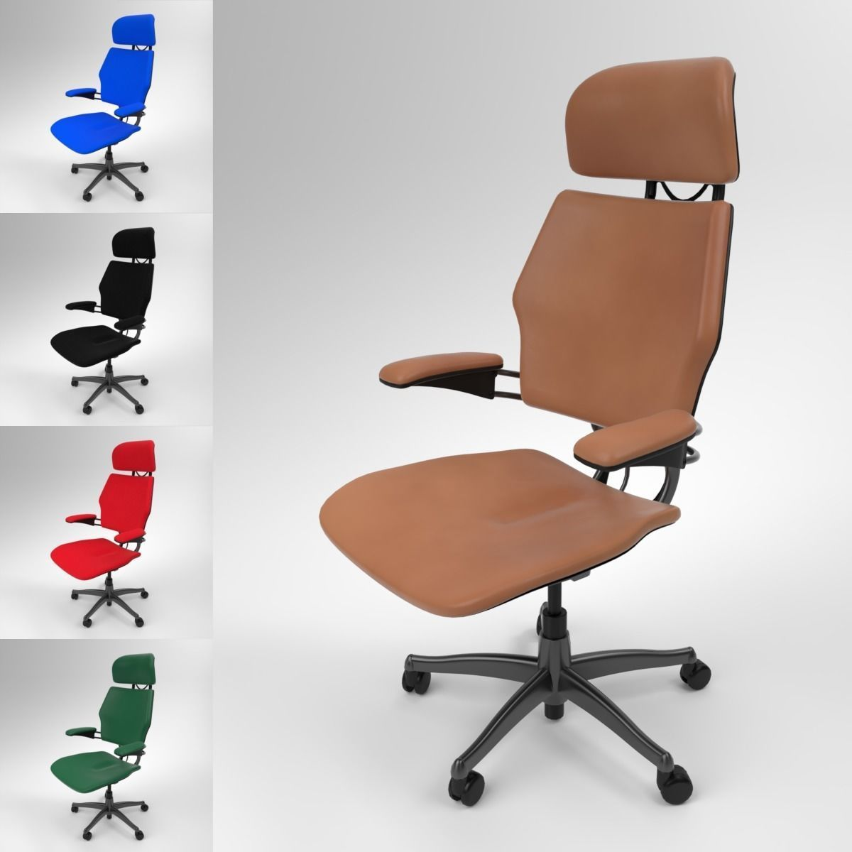 Freedom Furniture Head Office Techo Freedom Office Chair Blender Cycles 3d Model