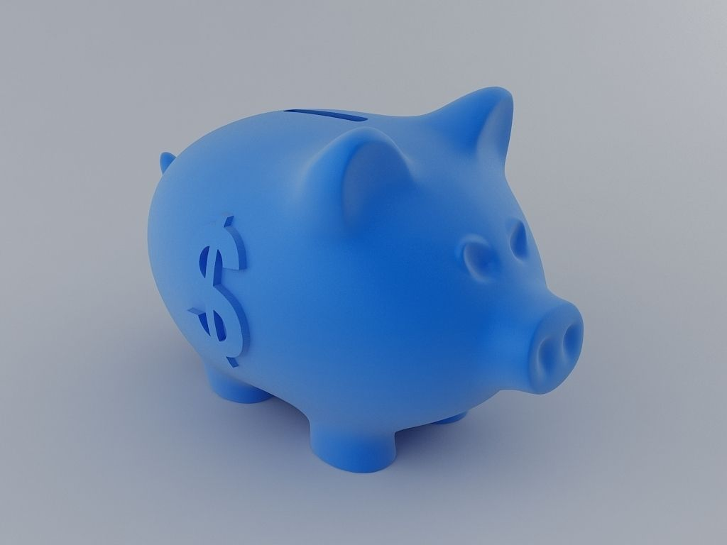 Coin Piggy Bank Toy Piggy Money Bank 3d Model 3d Printable Stl Cgtrader