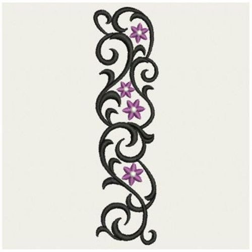 Vertical Wrought Iron Embroidery Designs, Machine Embroidery Designs - vertical designs