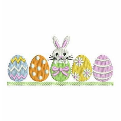 Easter Egg Border Embroidery Designs, Machine Embroidery Designs at