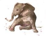Kids Elephant Painting