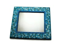Mosaic Wall Mirror Wall Art Blue Turquoise by ...