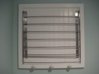 Laundry Room Wall Mount Drying Rack | Interior Decorating