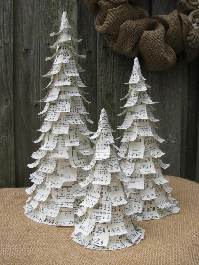 Christmas Trees - Hymnal Music, Set of 3