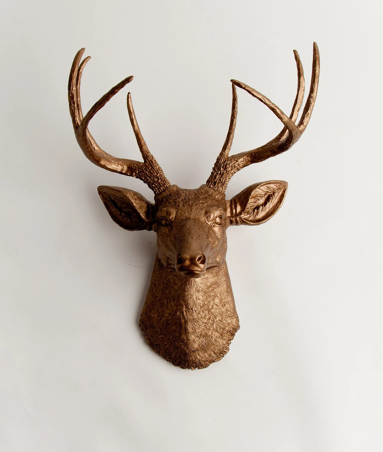 Faux Stag Head Resin Stag Head